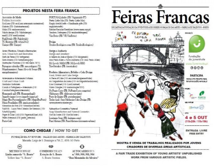 Escapadela da Semana - Feira Franca no Porto