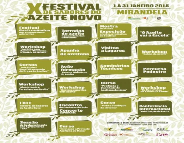 Escapadela da Semana – X Festival de Sabores do Azeite Novo
