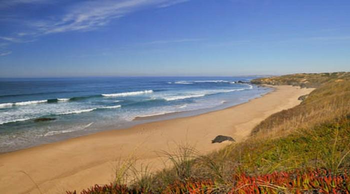 2 - Praias selvagens de Portugal - Praia do Brejo Largo