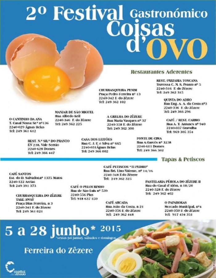 Escapadela da Semana – 2º Festival Gastronómico Coisas D'Ovo