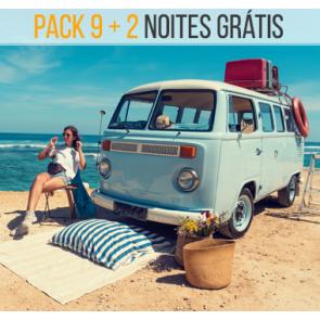 Pack / Talonário 7 + 2 Noites, 2 Pessoas
