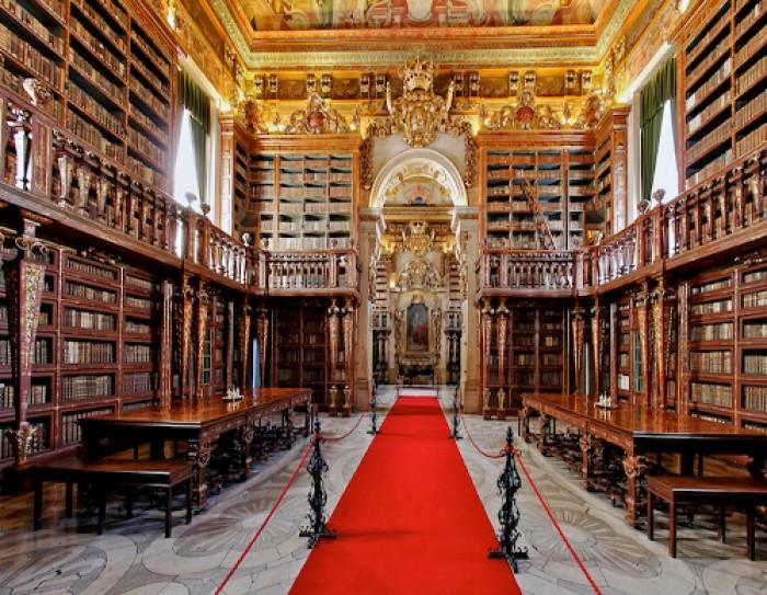 Biblioteca de Coimbra, entre as 20 mais belas do mundo